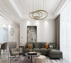 设计赏析:楚天三期130平米的现代风格
